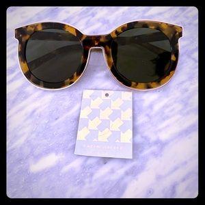 Karen Walker Super Duper Tortoise Sunglasses